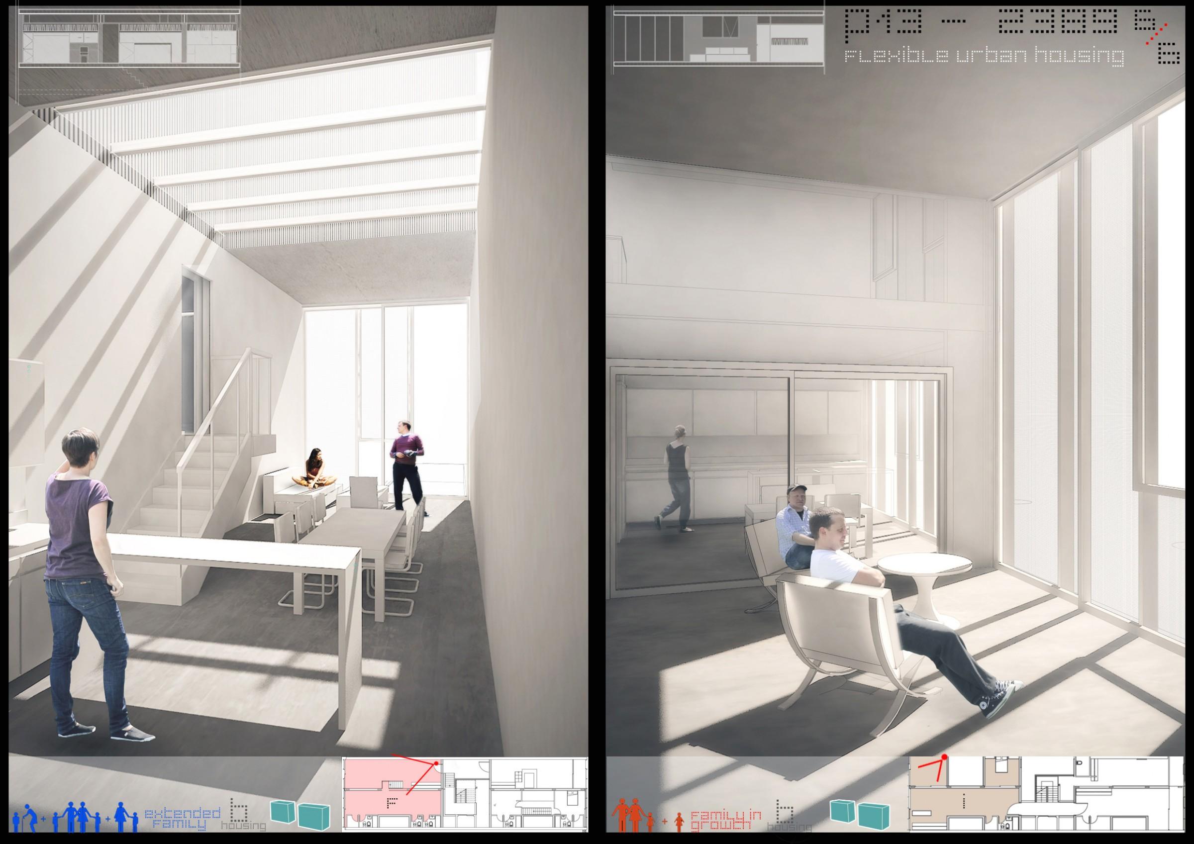 Archiprix 2013 Flexible Urban Housing