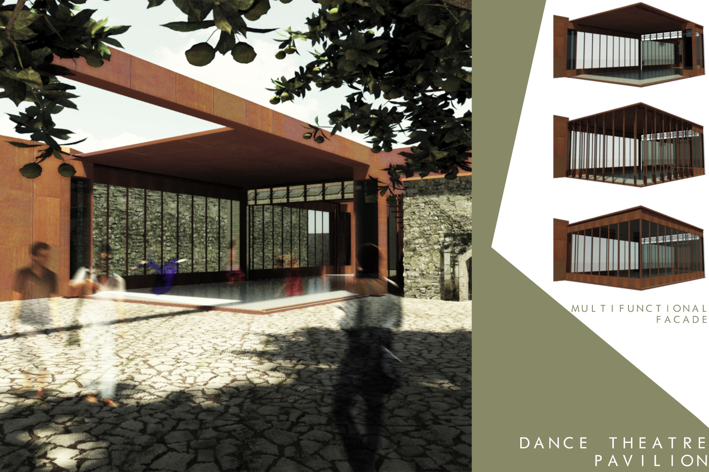 Exceptional Dance And Theatre Pavilion (enlargement In New Window)